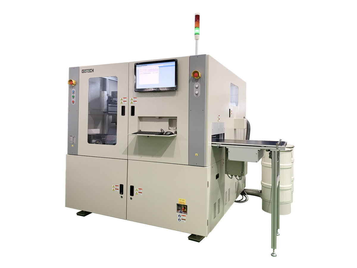 Getech MPR Mass Production Inline PCB routing machine